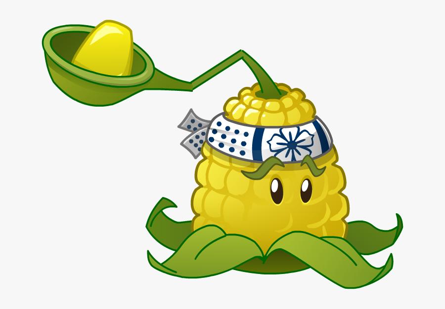 Plants Vs Zombies Characters - Plants Vs Zombies 2 Corn, Transparent Clipart