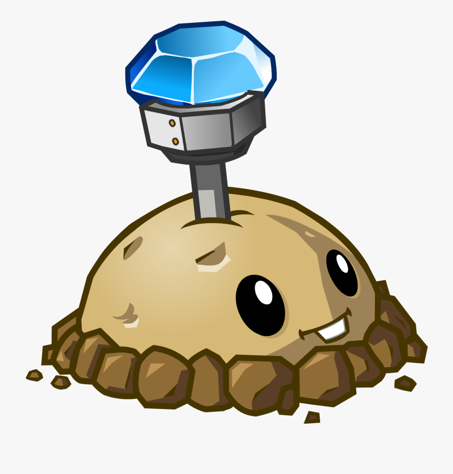 Collection Of Free Potato Drawing Plants Vs Zombies - Plant From Plants Vs Zombies, Transparent Clipart