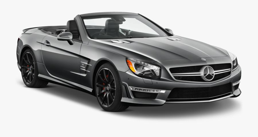 Dark Silver Mercedes Benz Sl 2014 Car Png Clipart - Mercedes Car Clipart, Transparent Clipart