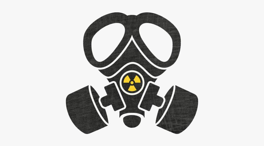 Download Gas Mask Transparent Background - Transparent Gas Mask Logo, Transparent Clipart