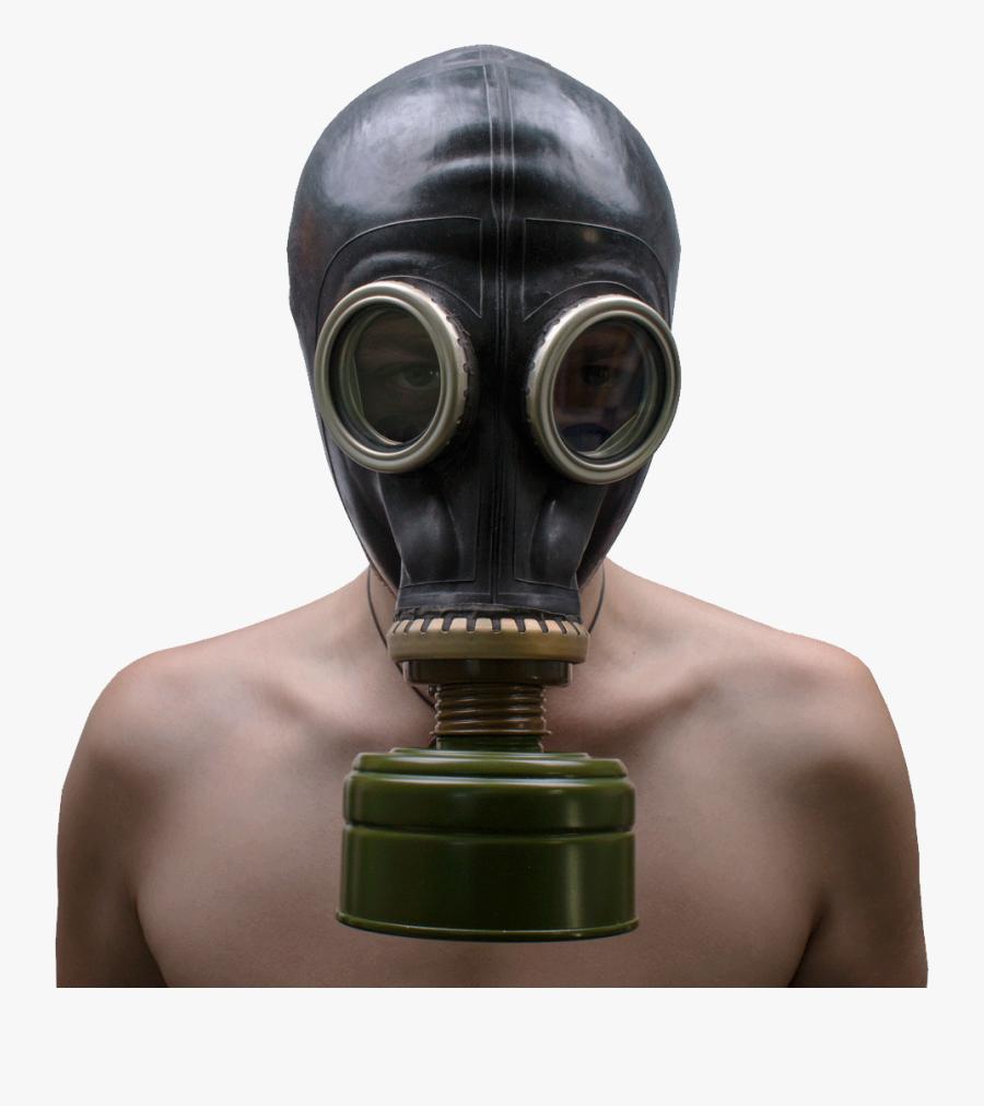 Gp-5 Gas Mask Pmk Gas Mask - Gp 5 Gas Mask Black, Transparent Clipart