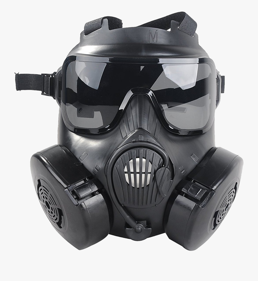 Gas Mask Png - Military Gas Mask, Transparent Clipart