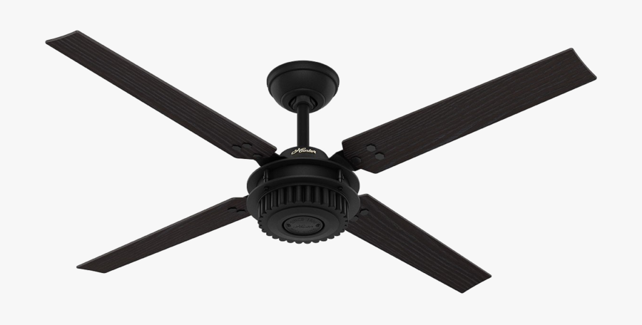 Ceiling Fan Image Free Clipart Hd - Hunter Chronicle Ceiling Fan, Transparent Clipart