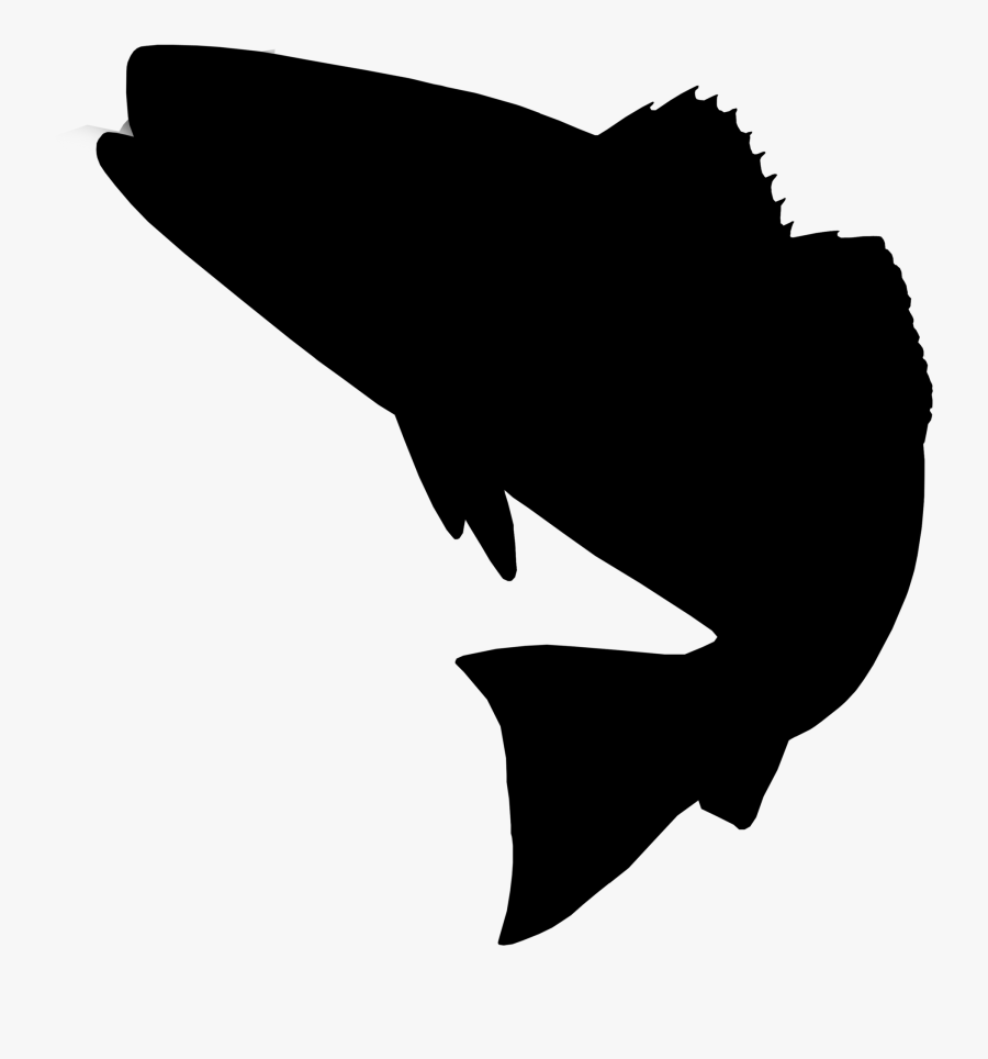 Clip Art Red Drum Fishing Silhouette Image Redfish Png Free Transparent Clipart Clipartkey