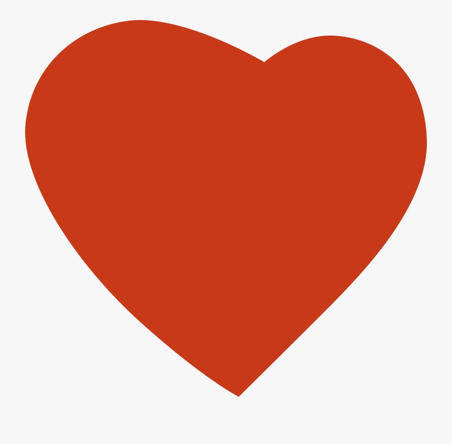 Transparent Open Heart Clipart - Transparent Background Instagram Heart Icon, Transparent Clipart