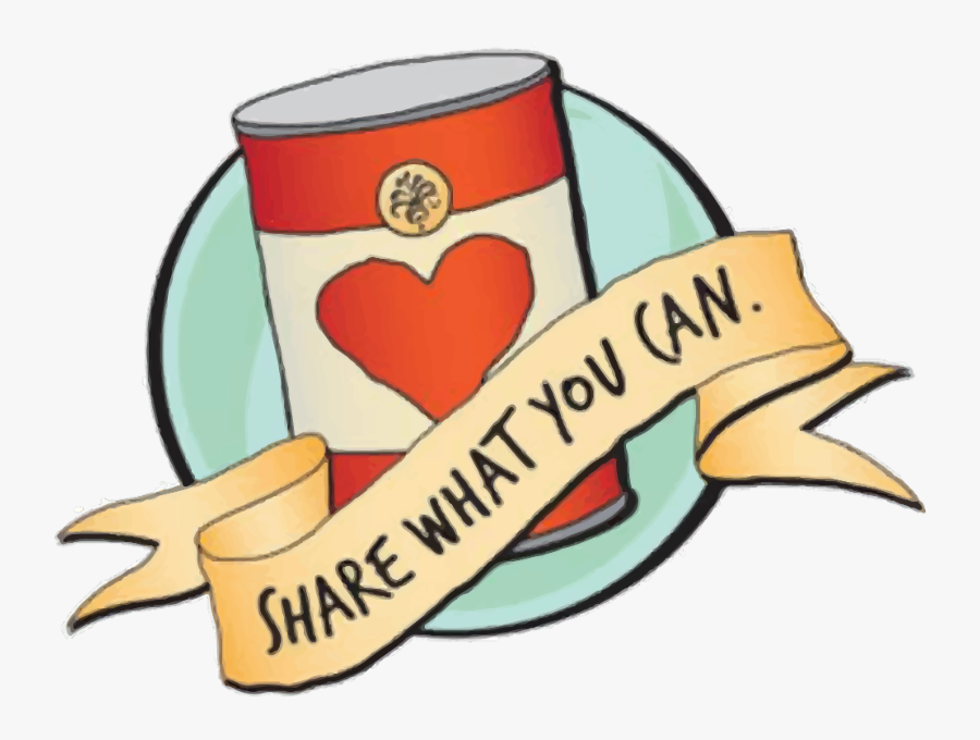 Give What You Can Food Drive, Transparent Clipart