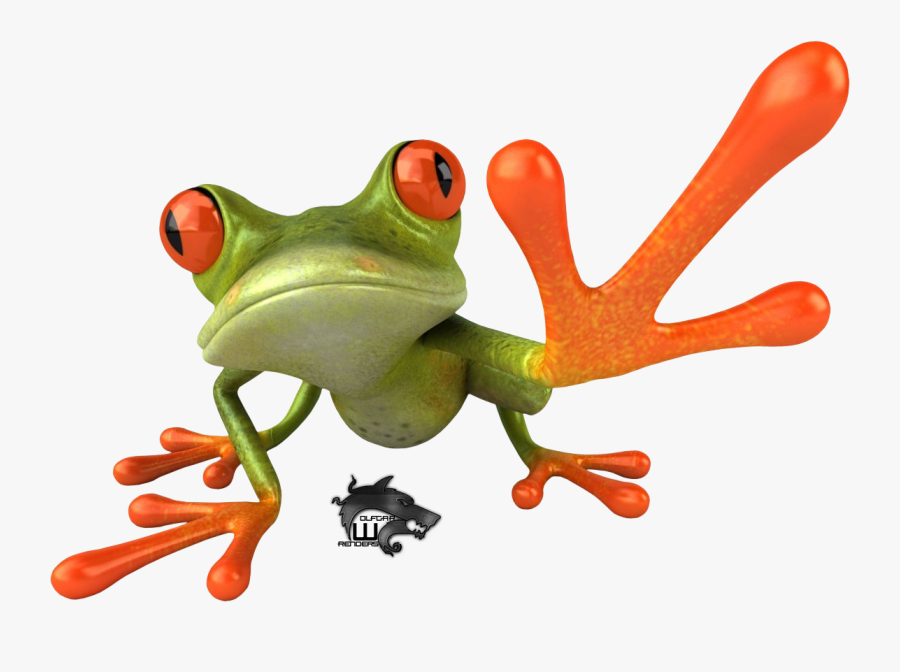 Red Eyed Tree Frog Clipart Transparent - Tree Frog Png, Transparent Clipart