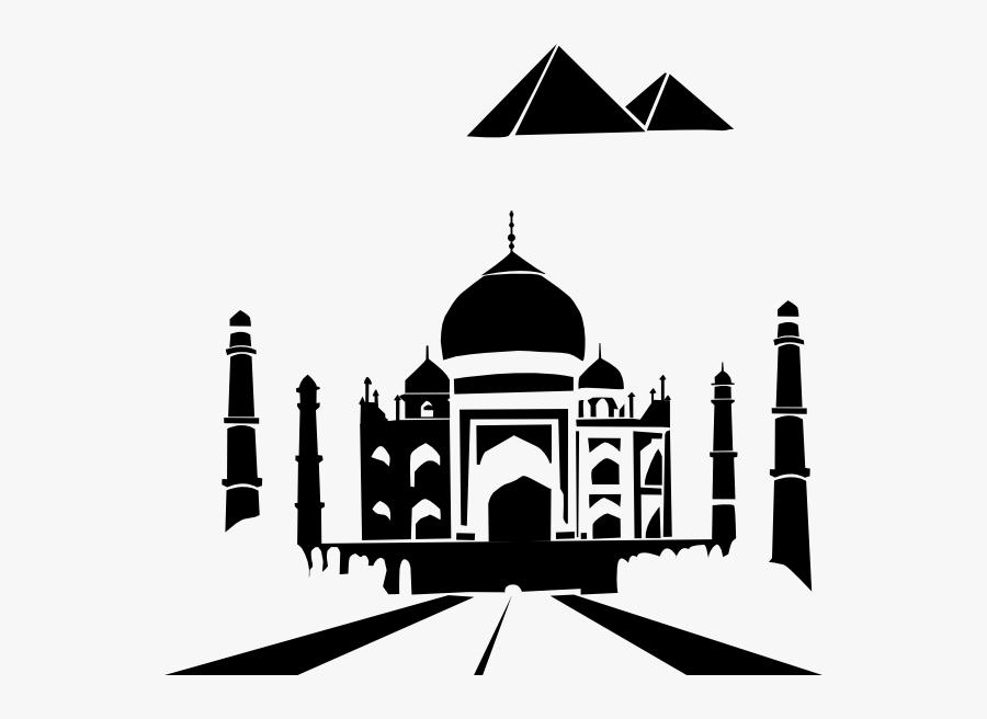 Taj Mahal Clipart Png, Transparent Clipart