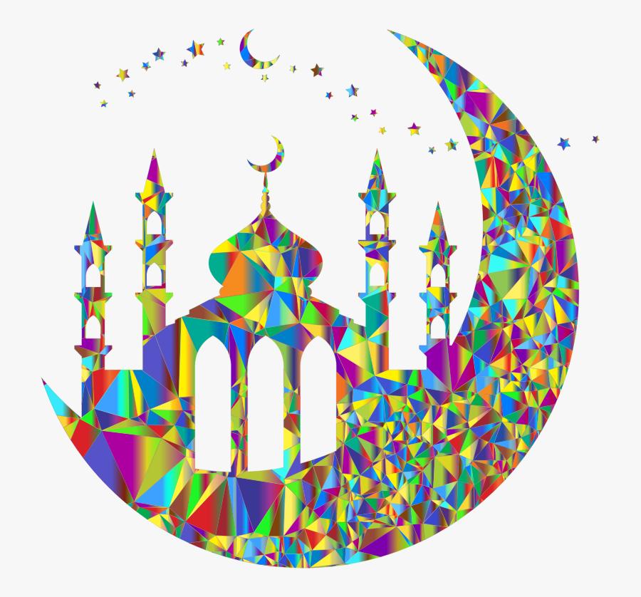 Circle,ramadan,mosque - Satan On Ramadan Meme, Transparent Clipart