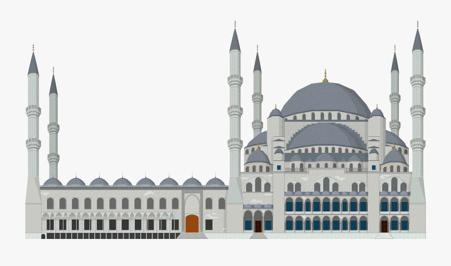 Download Mosque Png Clipart - Blue Mosque Turkey Png, Transparent Clipart