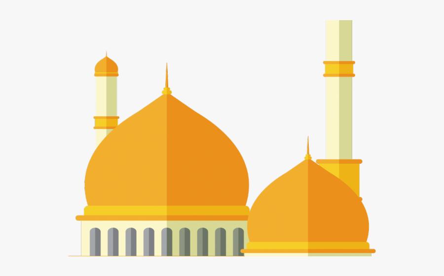 Mosque Cliparts - Mosque Clipart Png, Transparent Clipart