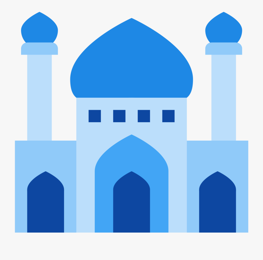 Download Masjid Drawing Illustration - Download Icon Masjid Png, Transparent Clipart