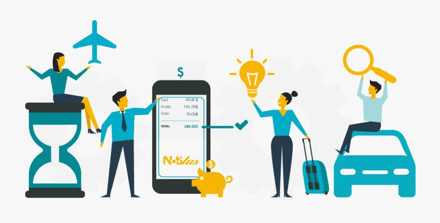 Notilus Management Expenses Claims Business Trips - Travel And Expense Clipart, Transparent Clipart