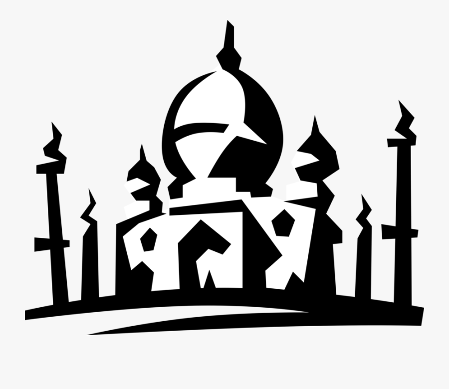 Transparent First Place Clipart - Mosque Clipart Png Vector, Transparent Clipart
