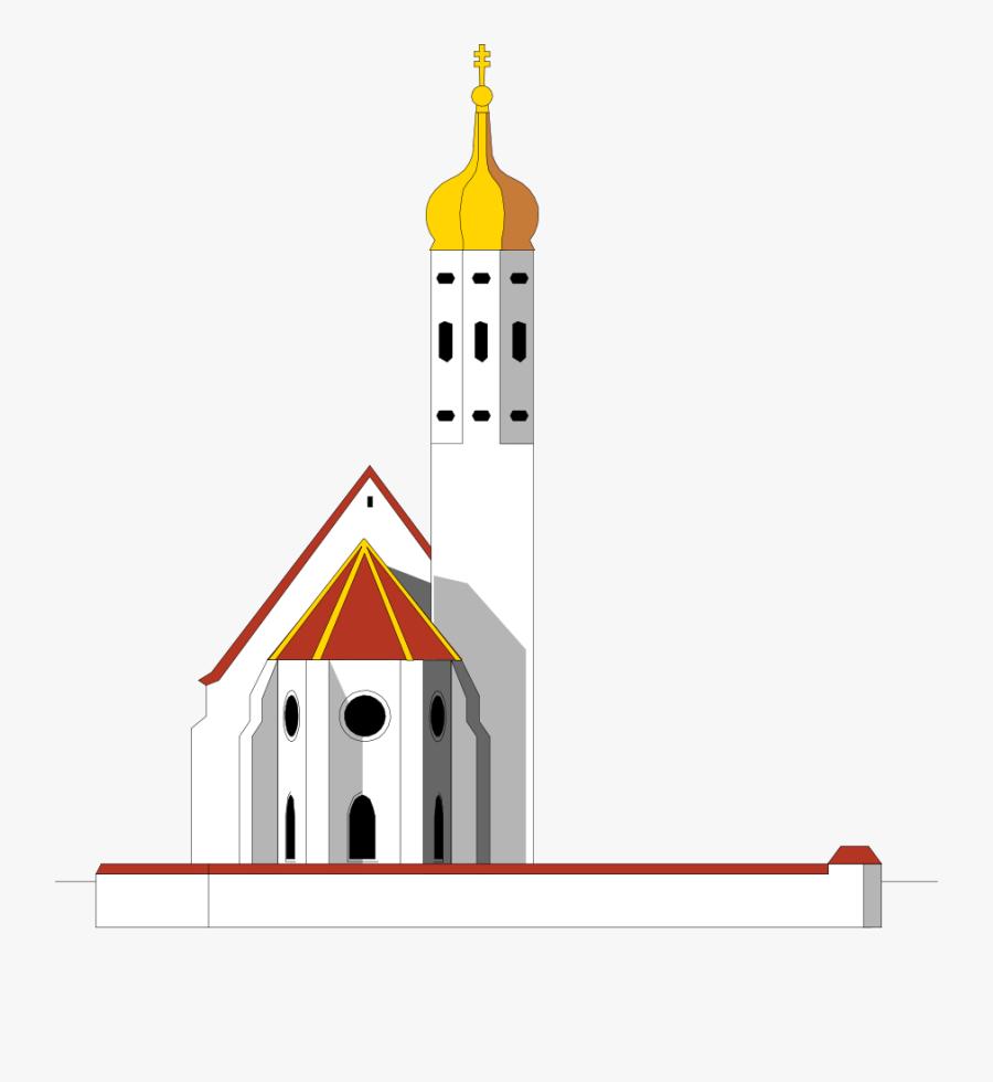 Mosque - Clipart - Mosque Tower Png, Transparent Clipart