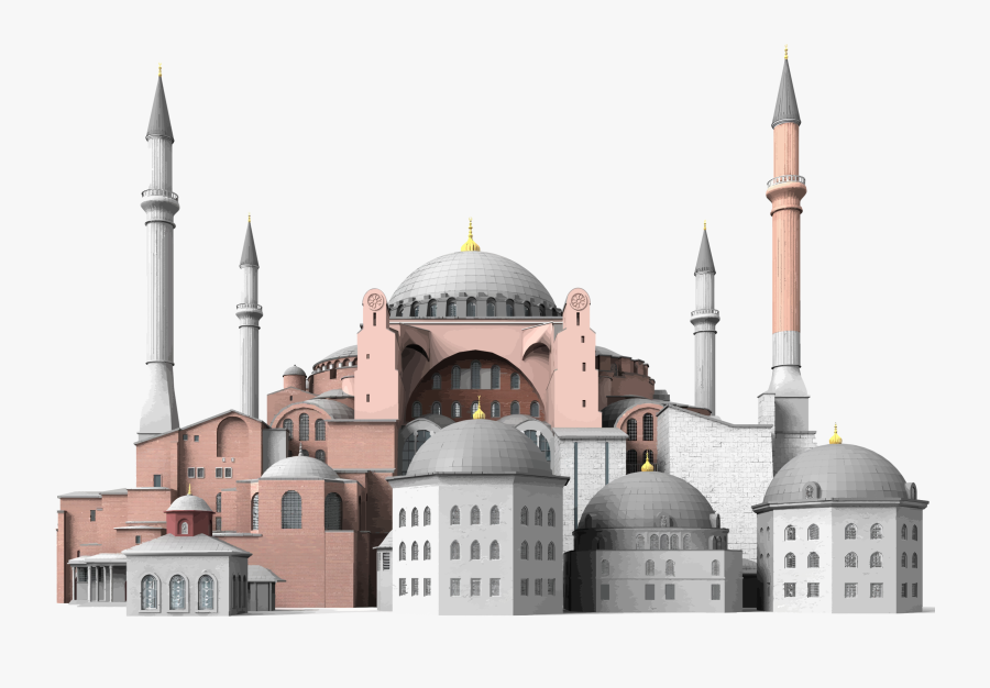 Building,byzantine Architecture,mosque - Hagia Sophia Png, Transparent Clipart