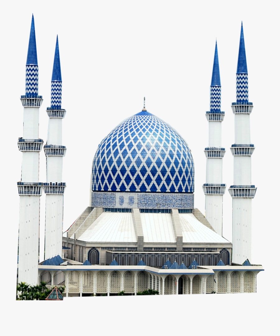 Mosque Clipart Gambar - Sultan Salahuddin Abdul Aziz Shah Mosque, Transparent Clipart