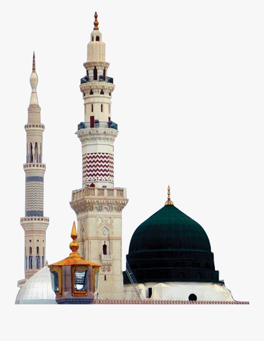 Mosque Background Image - Al-masjid Al-nabawi, Transparent Clipart