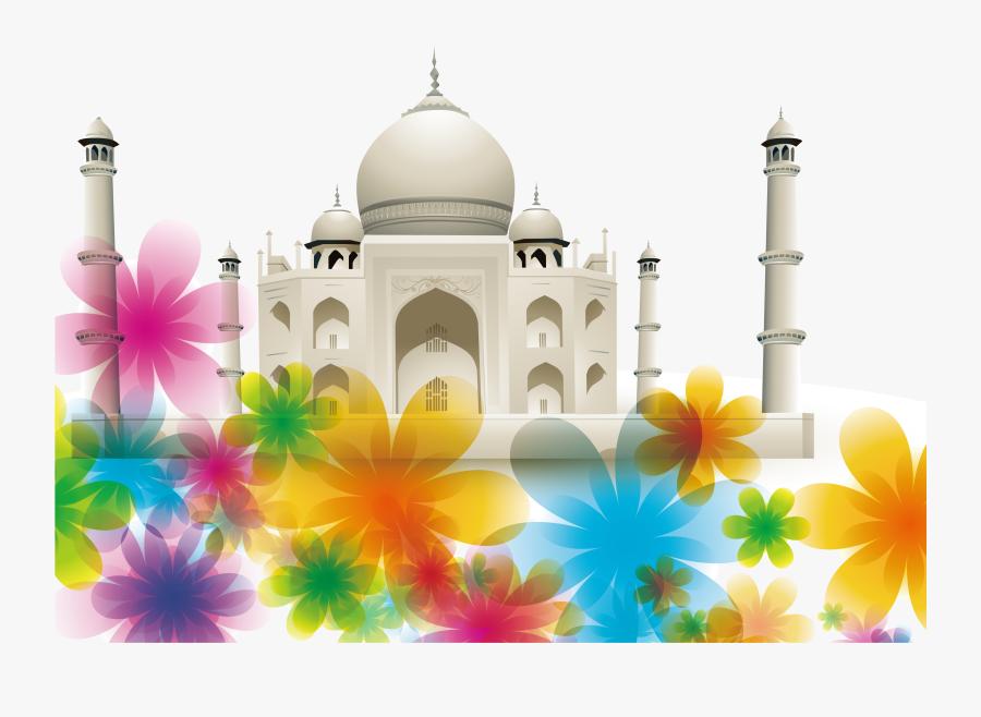 Taj Mahal Monument Royalty - Taj Mahal, Transparent Clipart