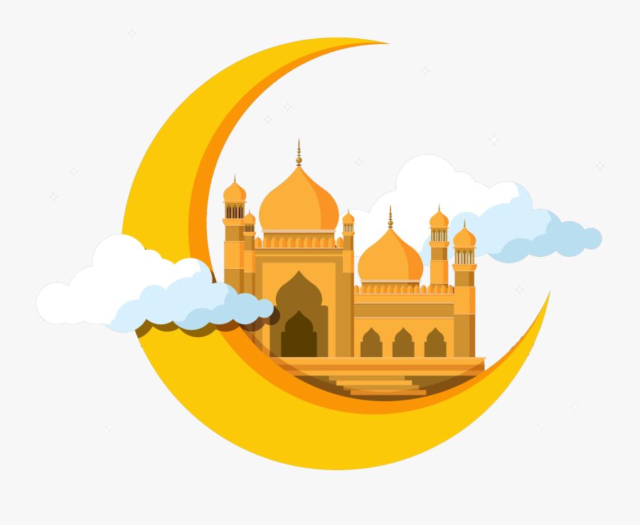 Mosque - Vector Ramadhan Png Hd, Transparent Clipart