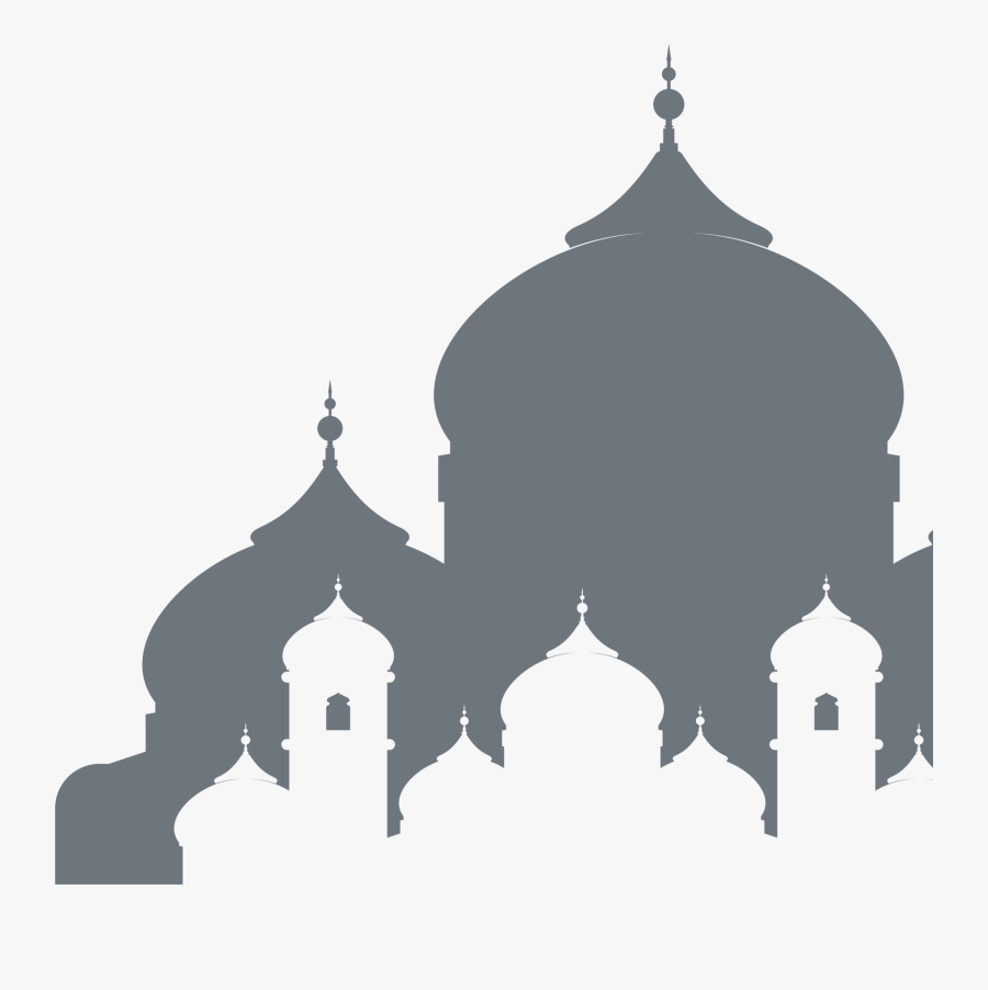 Mosque Clipart Eid Festival - Gambar Masjid Transparent Background, Transparent Clipart