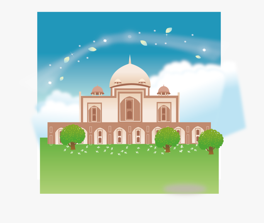 Mosque Clipart Abstract - Mosque Cartoon High Res, Transparent Clipart