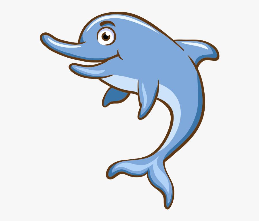 Aquatic Animal Cartoon Sea - Cartoon Aquatic Animals, Transparent Clipart