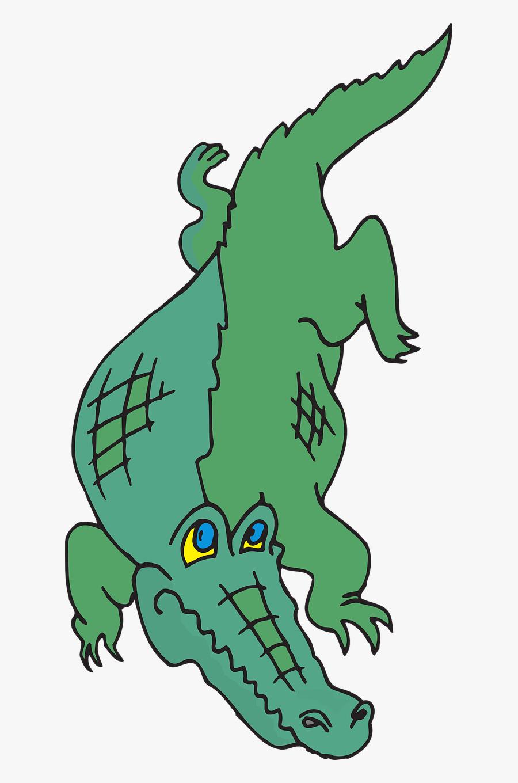 Walking Tail Claws - Gambar Animasi Buaya Keren, Transparent Clipart