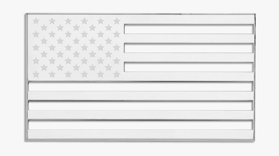 Cruiser Accessories American Flag Auto Decal - Bandera De Estados Unidos En Negro, Transparent Clipart