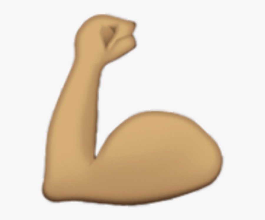 Strong Arm Emoji Strongfreetoedit - Transparent Background Strong Arm Emoji Png, Transparent Clipart