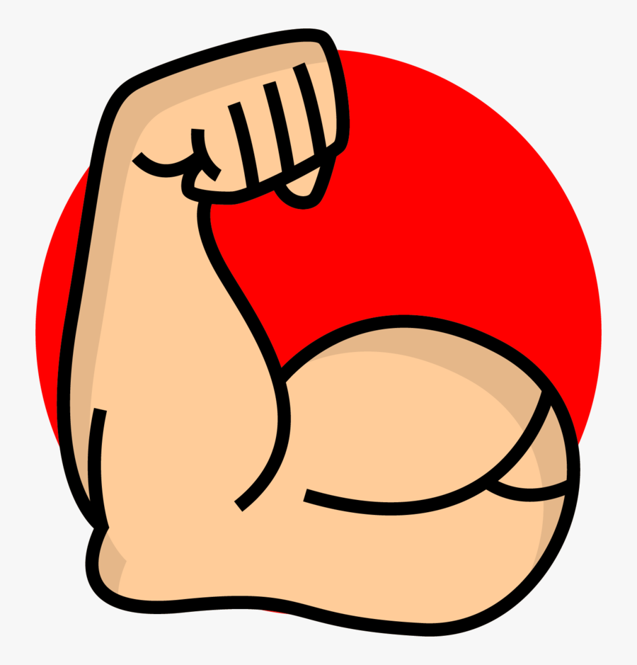 Limb Upper Strong Arm Icon Free Download Image - Strong Clipart Transparent, Transparent Clipart