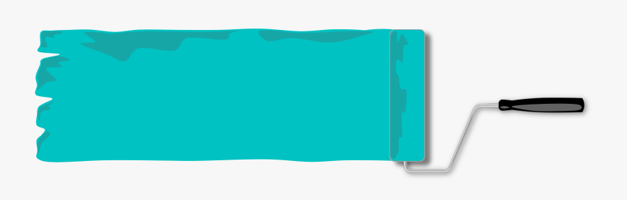 Clipart Paint Roller, Border, And Banner - Rectangle Vector Banner Png, Transparent Clipart