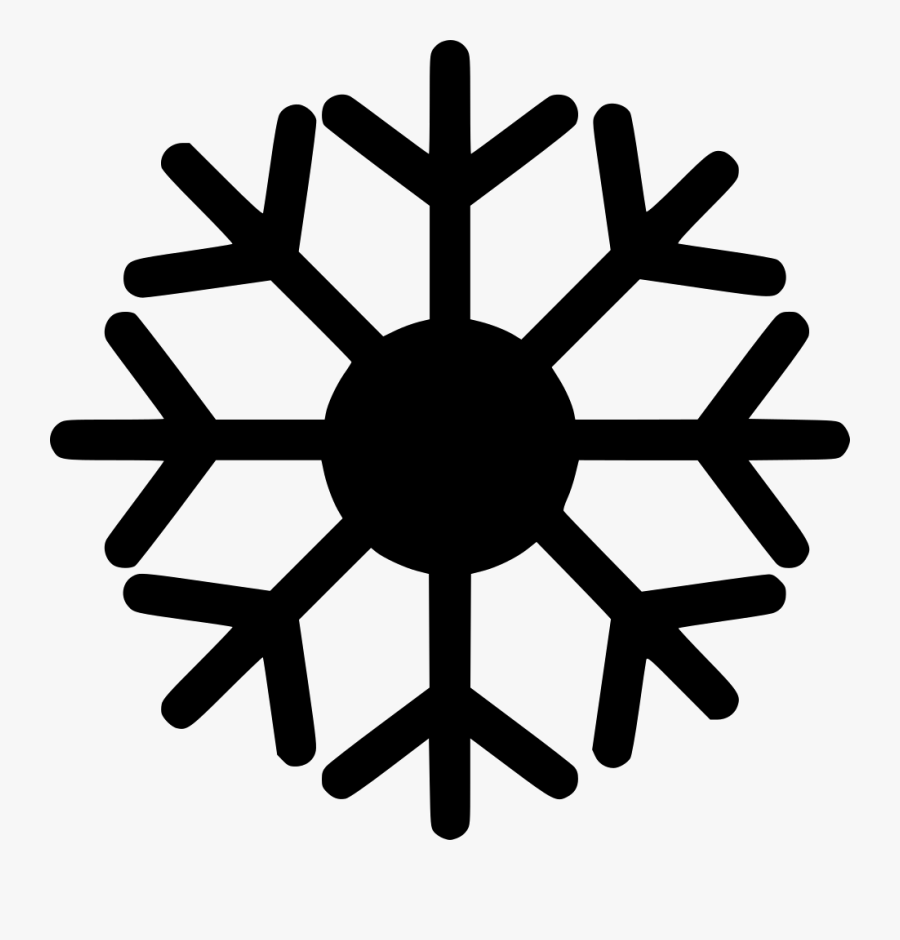 Transparent Snowflake Clipart Free Download - Air Conditioning Icon, Transparent Clipart