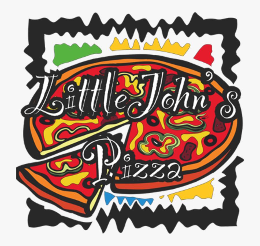 "Little John""s Pizza Delivery - Little John's Pizza, Transparent Clipart"