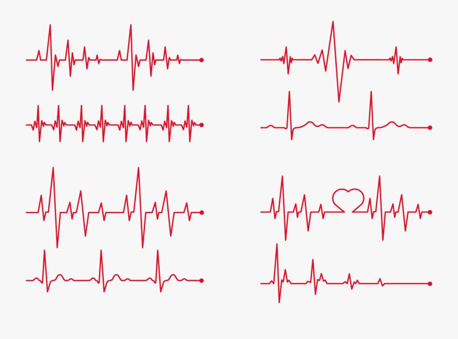 Transparent Heart Organ Clipart - Heart Beats Vector Png, Transparent Clipart