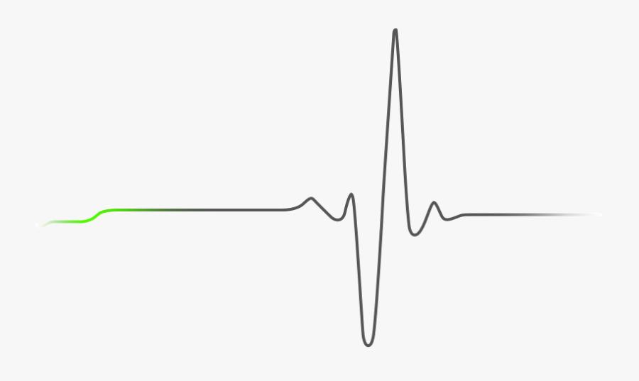 Transparent Heart Beat Clipart - Heart Beat Png Black, Transparent Clipart