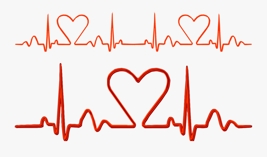 Jpg Freeuse Pulse Electrocardiography Heart Rate - Nhip Tim Vector, Transparent Clipart
