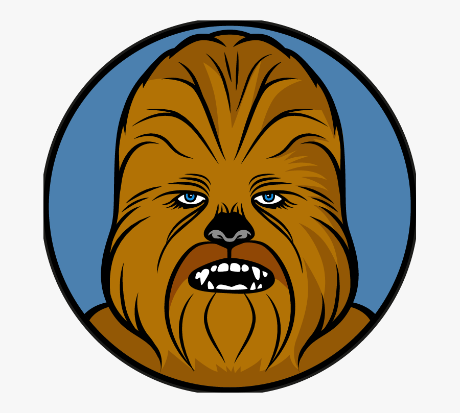 Star Wars Chewbacca Vector, Transparent Clipart