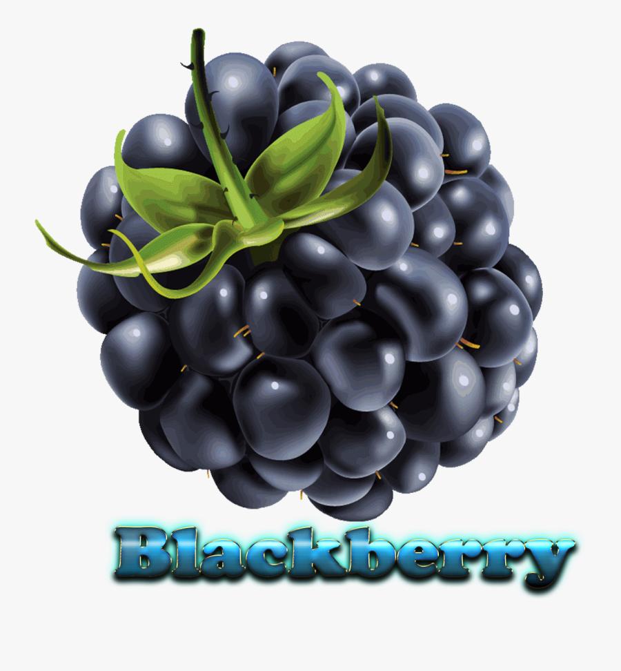 Blackberry Free Download Png - Клипарт Ягода На Прозрачном Фоне, Transparent Clipart