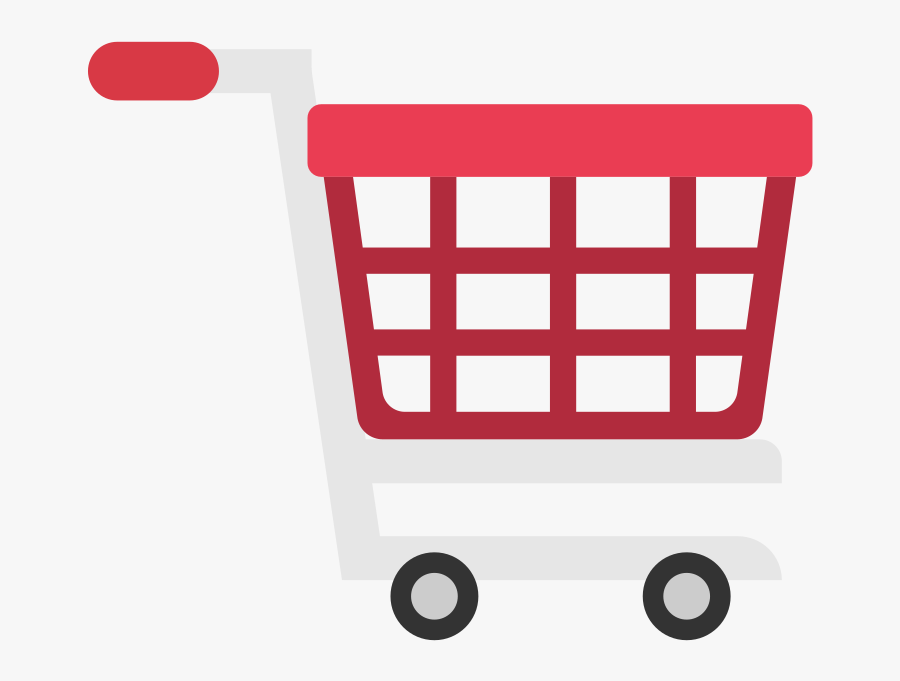 Shopping Cart Icon Vector Png, Transparent Clipart