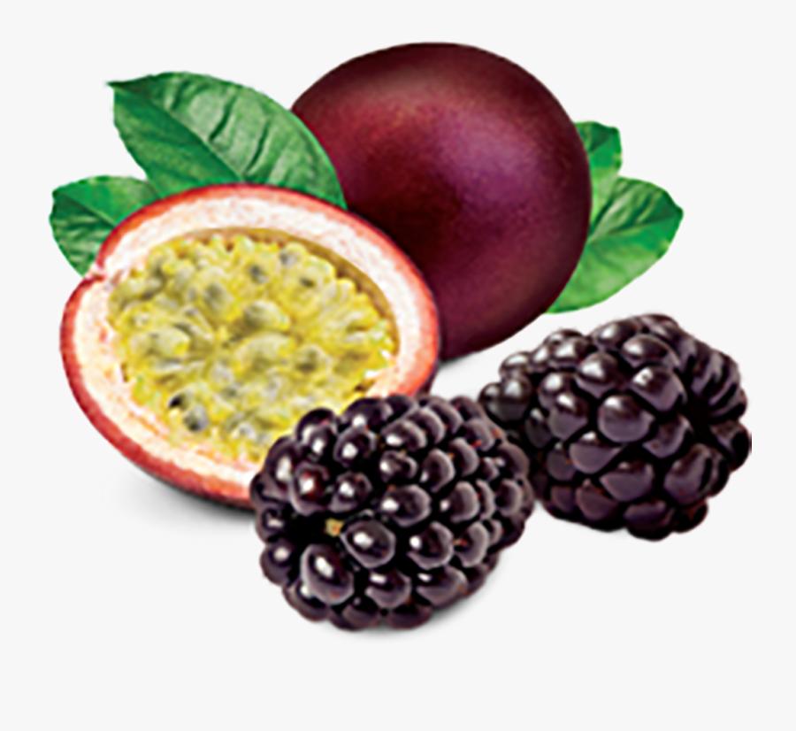 Blackberry Passion Fruit Tart - Passion Fruit Png, Transparent Clipart