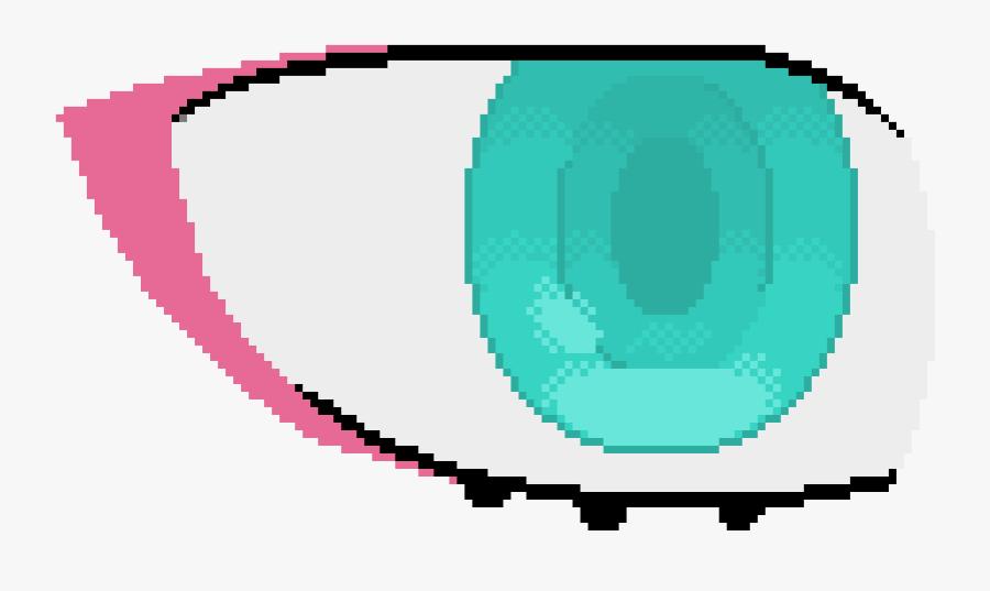 Zero Two Eye Test - Zero Two Pixel Art, Transparent Clipart