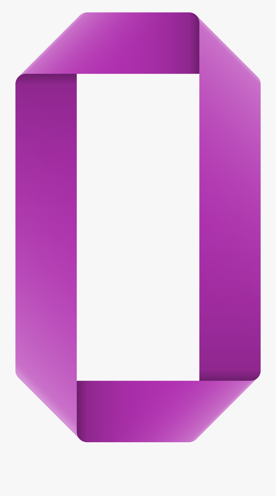 Ribbon Number Zero Transparent Png Clip Art Image - Ribbon Number Zero Png, Transparent Clipart