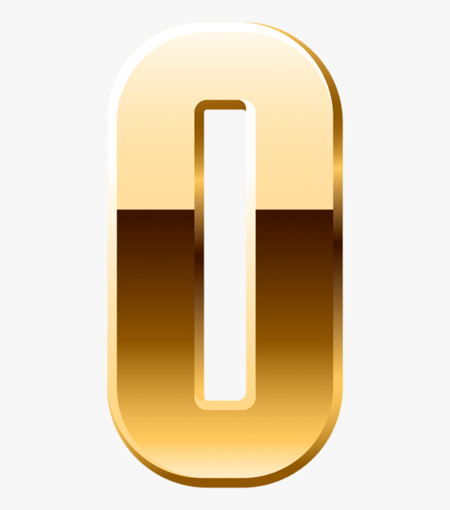 Download Gold Number Zero Png Clipart Png Photo , Png - Illustration, Transparent Clipart