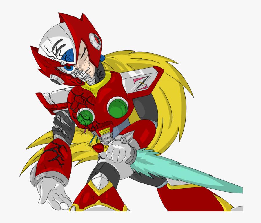 Transparent Fury Clipart - Mega Man X Zero, Transparent Clipart