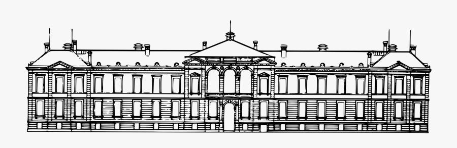 Symmetry,monochrome Photography,classical Architecture - Portable Network Graphics, Transparent Clipart