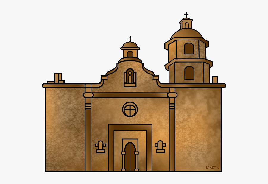 Mission Church - Church Brown Clipart, Transparent Clipart