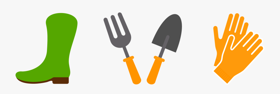 Transparent Landscaping Tools Clipart - Gardening Tools Png, Transparent Clipart