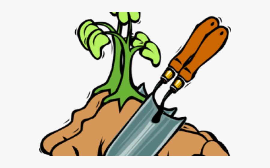 Transparent Gardening Tools Clipart - Clipart Spade, Transparent Clipart