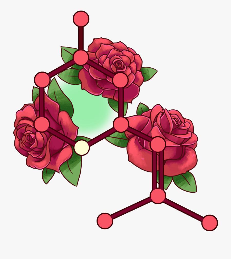 Mastodon Clip Art - Garden Roses, Transparent Clipart